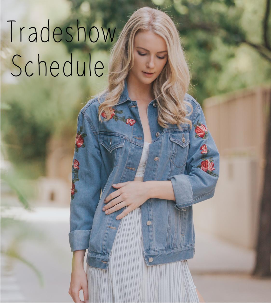 Illa Illa Tradeshow Schedule